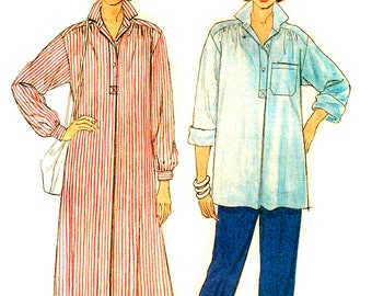 Butterick 3083 Maternity Sewing Pattern Pullover Dress, Pants and Top Size 12, 14, 16 Bust 34, 36, 38 Easy to Sew Uncut