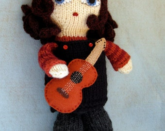 Jess Doll Knitting Pattern