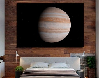 Jupiter planet Jupiter art Jupiter canvas Jupiter decor Jupiter photo Jupiter poster Jupiter print Jupiter wall art Jupiter wall decor