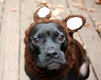 Dog Snood Squirrel MADE TO ORDER