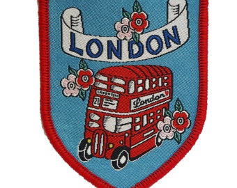 London Iron-on Patch