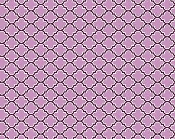 Joel Dewberry - AVIARY 2 - Lodge Lattice in Lilac JD46 - Free Spirit Fabric - By the Yard