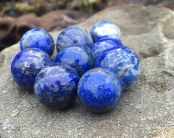 Tiny Lapis Lazuli Crystal Balls