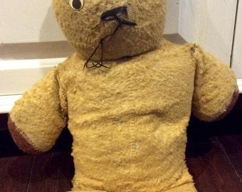 teddy bears stuffed vintage hard