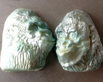 Chocolate Gorilla Head filled with Flavored Ganache - 1 per order