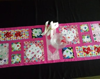 Handmade Love/Valentine's Day Table Runner (#30157)