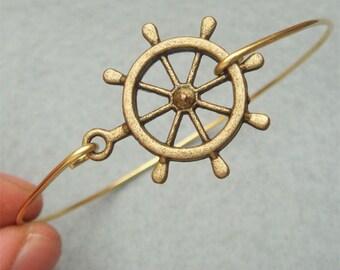 Helm Bangle Bracelet