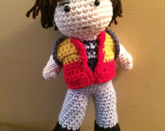 Made to order Will Byers Stranger Things inspired amigurumi doll