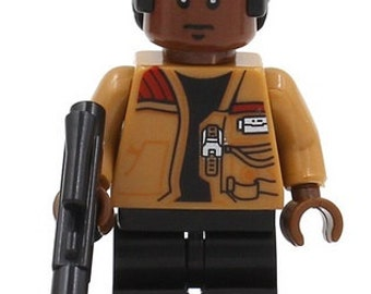 Finn STAR WARS Force Awakens Custom Minifigure 100% Lego Compatible!