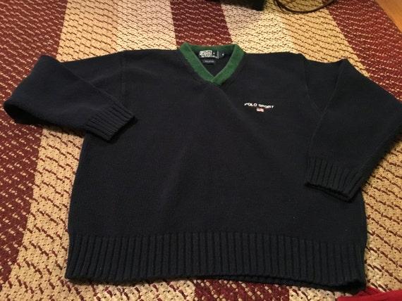 90s Polo Sport Bear t-shirt rare Ralph Lauren snowbeach tommy hilfiger designer hipster trendy guess jeans usa streetwear kanye west hip hop PWdO4