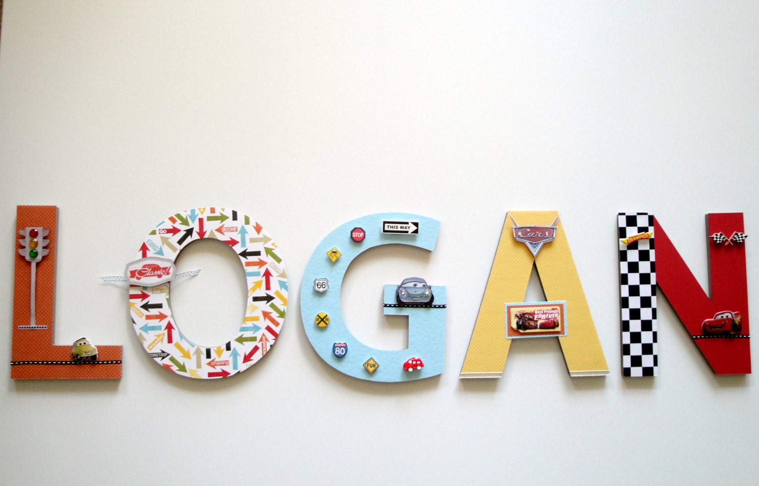 Personalized Wall Letter