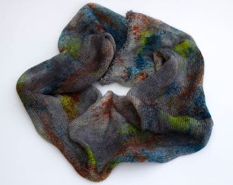 """Unforgettable colorway on my """"Delightful"""" base/435 yards of fingering weight yarn"""