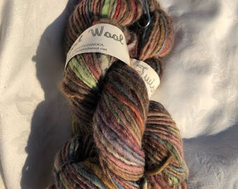 Neutral Variegated Hand Spun Yarn
