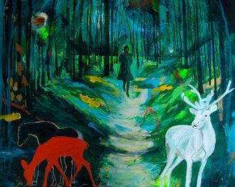 Walk in the Woods (print)