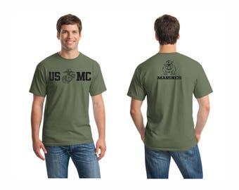 US Marine Corp T-shirt 100% cotton all sizes