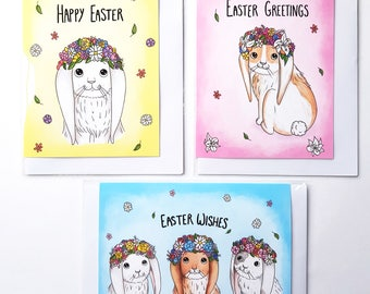 3, 6 or 12 Pack of Easter Cards