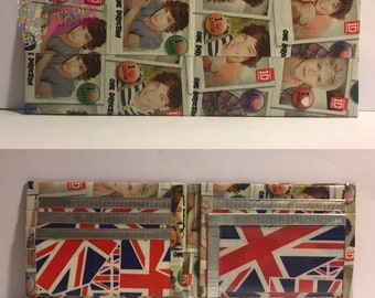One Direction Duct Tape Bifold Wallet