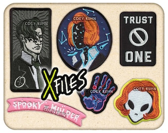Coey: X-Files (Patches)