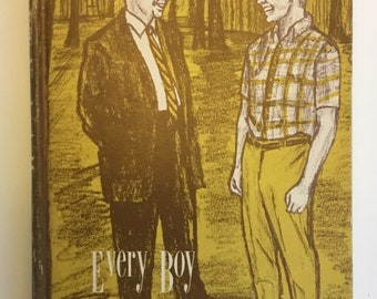Every Boy Needs A Man By E.R. Eller Vintage Rare Hardcover Book Autographed By The Author 1969