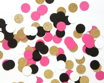 Kate Spade inspired Party Confetti - Kate Spade inspired Decorations - Kate Spade Bridal Shower Confetti - Kate Spade Baby Shower Confetti
