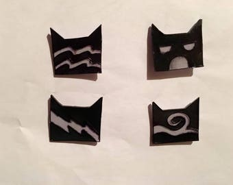 Warrior Cats Clan Symbol Pins
