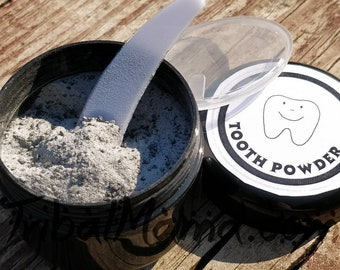 Remineralizing, Activated Charcoal Tooth Powder
