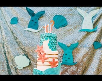 Mermaid fin decoration