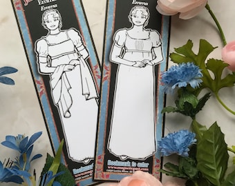 Bookmark to color of Jane Austen's Emma from Emma