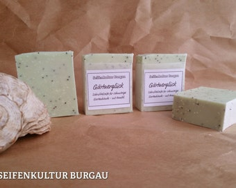 "Soap ""Gardener Luck"" with aloe vera + oil"