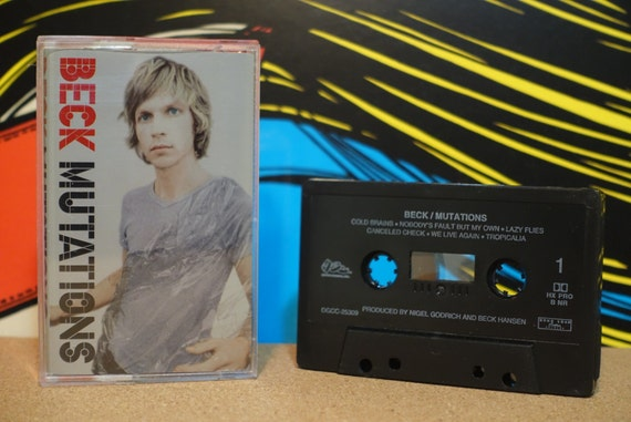 Mutations by Beck Vintage Cassette Tape
