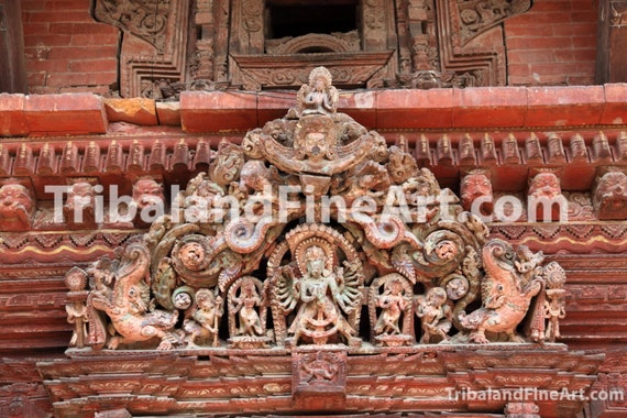 Hindu temple, Nepal - Digital Download Photography