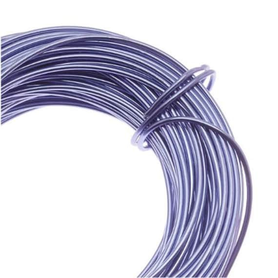 Aluminum Lilac Purple Craft Wire 12 Gauge 39 Feet, Craft Projects ...