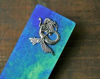 Mermaid Wooden Bookmark