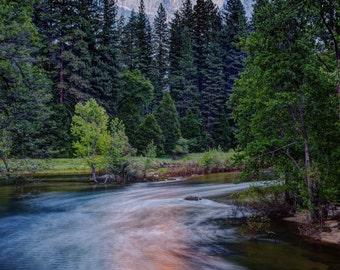Half Dome - Sunset - Yosemite National Park
