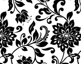 Mystique by Lila Tueller for Riley Blake Fabrics - Mystique Main White, yard