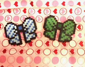 Love Live Bow Perler Charms/Pins