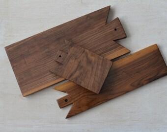 Walnut Cutting Board, Serving Board, Cheese Appitizer Board, Prep Board
