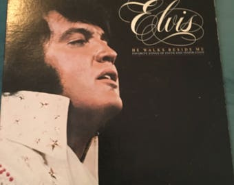 ELVIS He walks beside me 1978