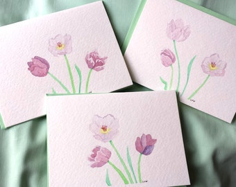 Spring Tulip Cards