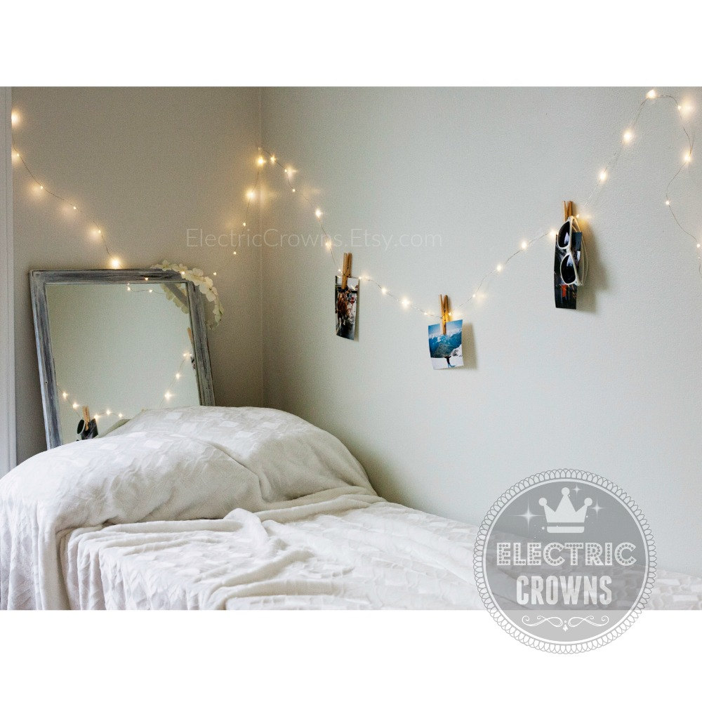 Night Light Fairy Lights Bedroom Home Decor Living Room - String lights for girls bedroom