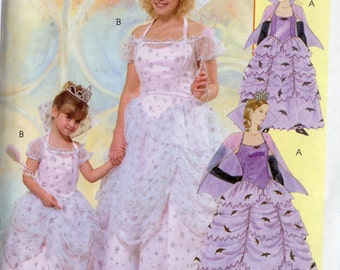 GOOD WITCH McCall's Costumes Pattern 4628 Misses Sizes Sm - Xlrg 8-22