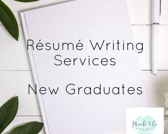 Résumé Writing New Graduate
