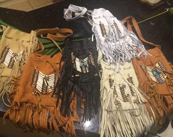 Navajo fringe bags  6 bag wholesale buy