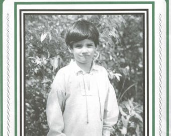 Boy's Drop Sleeve Shirt Pattern