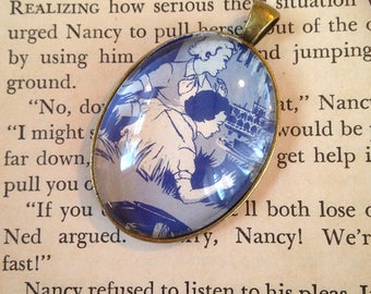 "Nancy Drew ""The Haunted Showboat"" pendant"