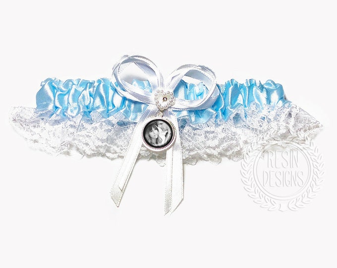 Wedding Garter for the Bride, Something Blue, Custom Wedding Garter, Gift for the Bride, Bridal Garter