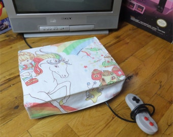 Rainbow Brite WRETRO WRAPPER console dust cover