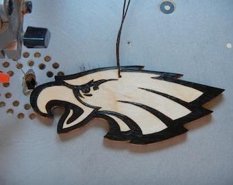 philadelphia eagles ornament