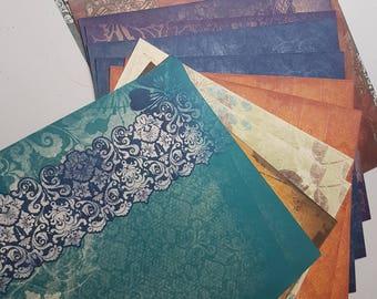 Creative Memories Paper pack 12x12 Reminisce Prints (Designer)
