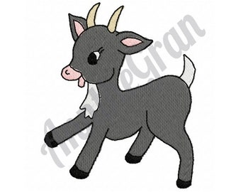 Baby Goat - Machine Embroidery Design